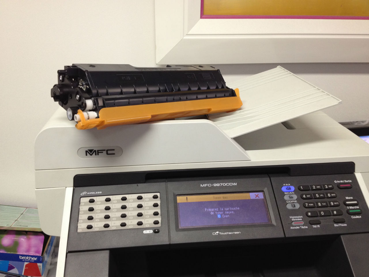 how to create a printer object